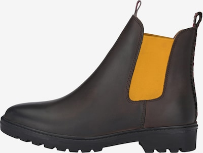 Crickit Chelsea boots 'HANNAH' in de kleur Bruin: Vooraanzicht