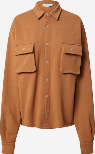 NU-IN Bluse 'Overshirt' in cognac, Produktansicht