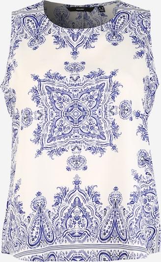 Vero Moda Curve Bluza 'Boki' | modra / bela barva, Prikaz izdelka