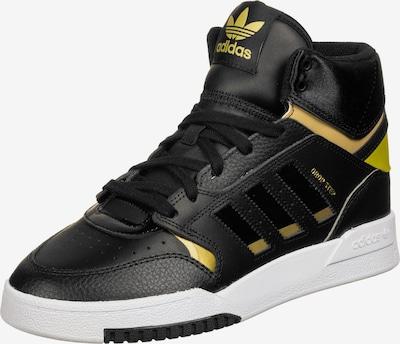 ADIDAS ORIGINALS Schuhe ' Drop Step J W ' in goldgelb / schwarz / weiß, Produktansicht