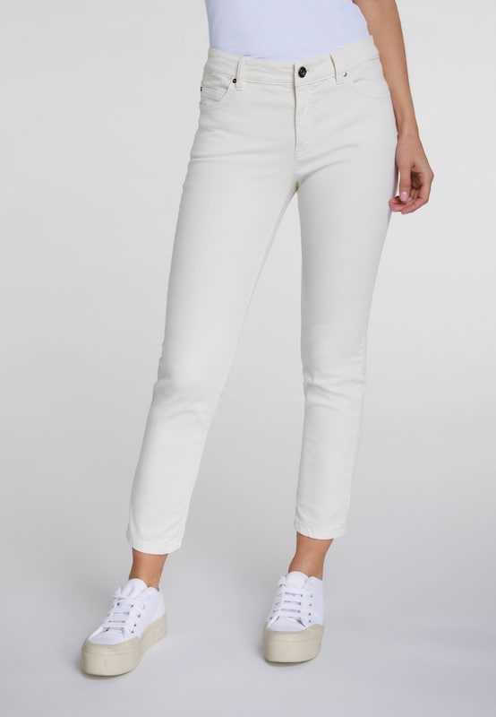 OUI Jeggings in beige, Modelansicht