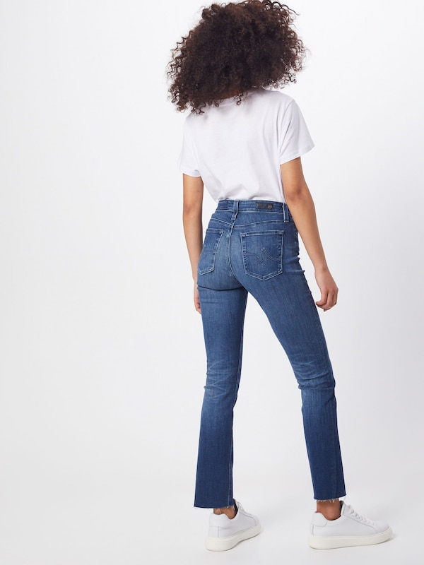 AG Jeans Jeans 'MARI' in blue denim: Rückansicht