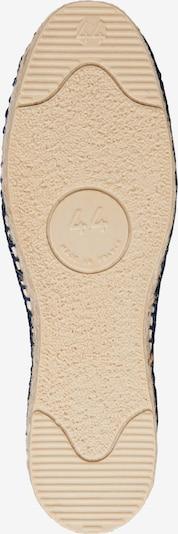 Espadrillas 'Classic' espadrij l´originale di colore marino / bianco naturale: Vista dal basso