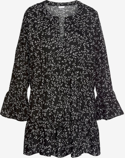 LASCANA Blusenkleid in schwarz / weiß, Produktansicht