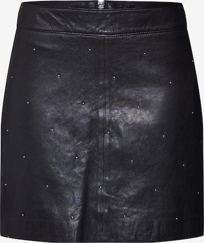 Gipsy Lederrock 'G2GHausa SF LDRV' in schwarz, Produktansicht