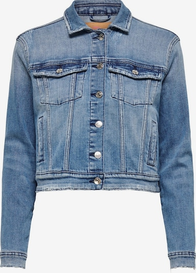 ONLY Jeansjacke in blue denim, Produktansicht