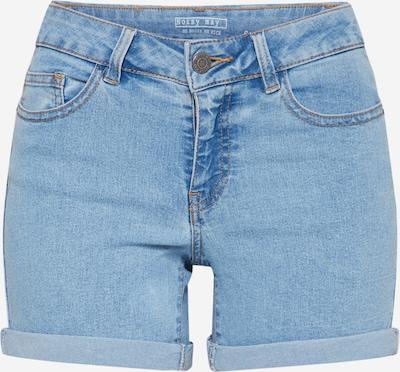 Noisy may Shorts, umgeschlagener Saum in hellblau, Produktansicht