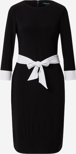 Lauren Ralph Lauren Kleid 'KARAL-3/4 SLEEVE-DAY DRESS' in schwarz, Produktansicht