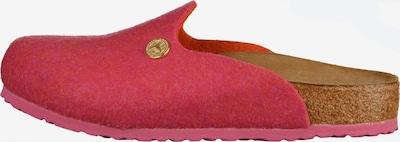 BIRKENSTOCK Pantoufle 'Amsterdam' en chamois / rose, Vue avec produit