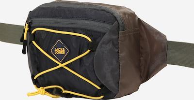 JACK & JONES Torbica za okrog pasu 'JACELI BUMBAG'   mornarska / rumena / oliva barva, Prikaz izdelka