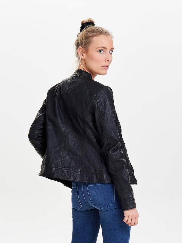 ONLY Jacke in Leder-Optik 'Bandit'