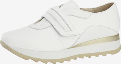 heine Sneaker in dunkelbeige / weiß, Produktansicht