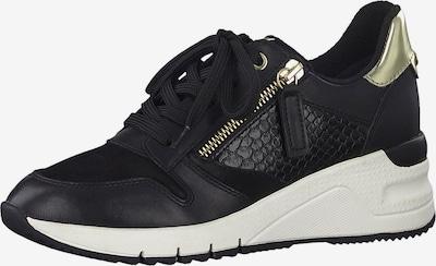 TAMARIS Sneaker in gold / schwarz, Produktansicht