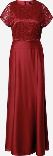 Rochie de seară SWING pe roșu vin, Vizualizare produs