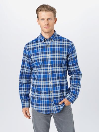 kék / vegyes színek BRAX Ing 'Dries', Modell nézet