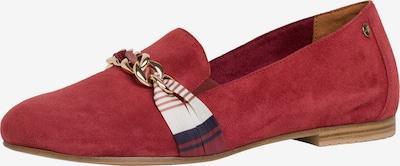 TAMARIS Slipper in dunkelblau / rot / weiß, Produktansicht
