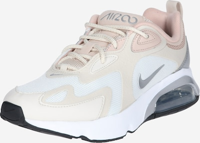 Nike Sportswear Sneakers laag 'AIR MAX 200' in de kleur Rosé / Zilver / Wit: Vooraanzicht