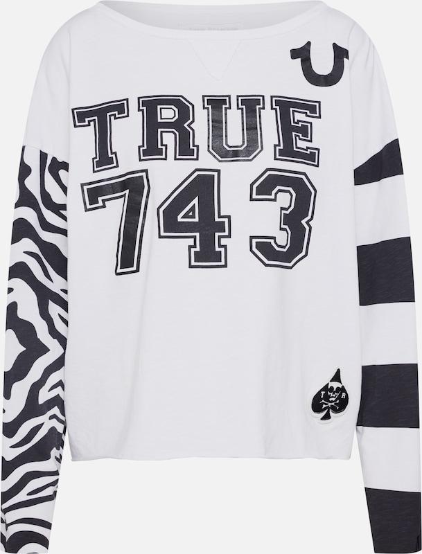 En Blanc 'ls 743' Religion shirt True T Zebra A3Rq4jcL5S