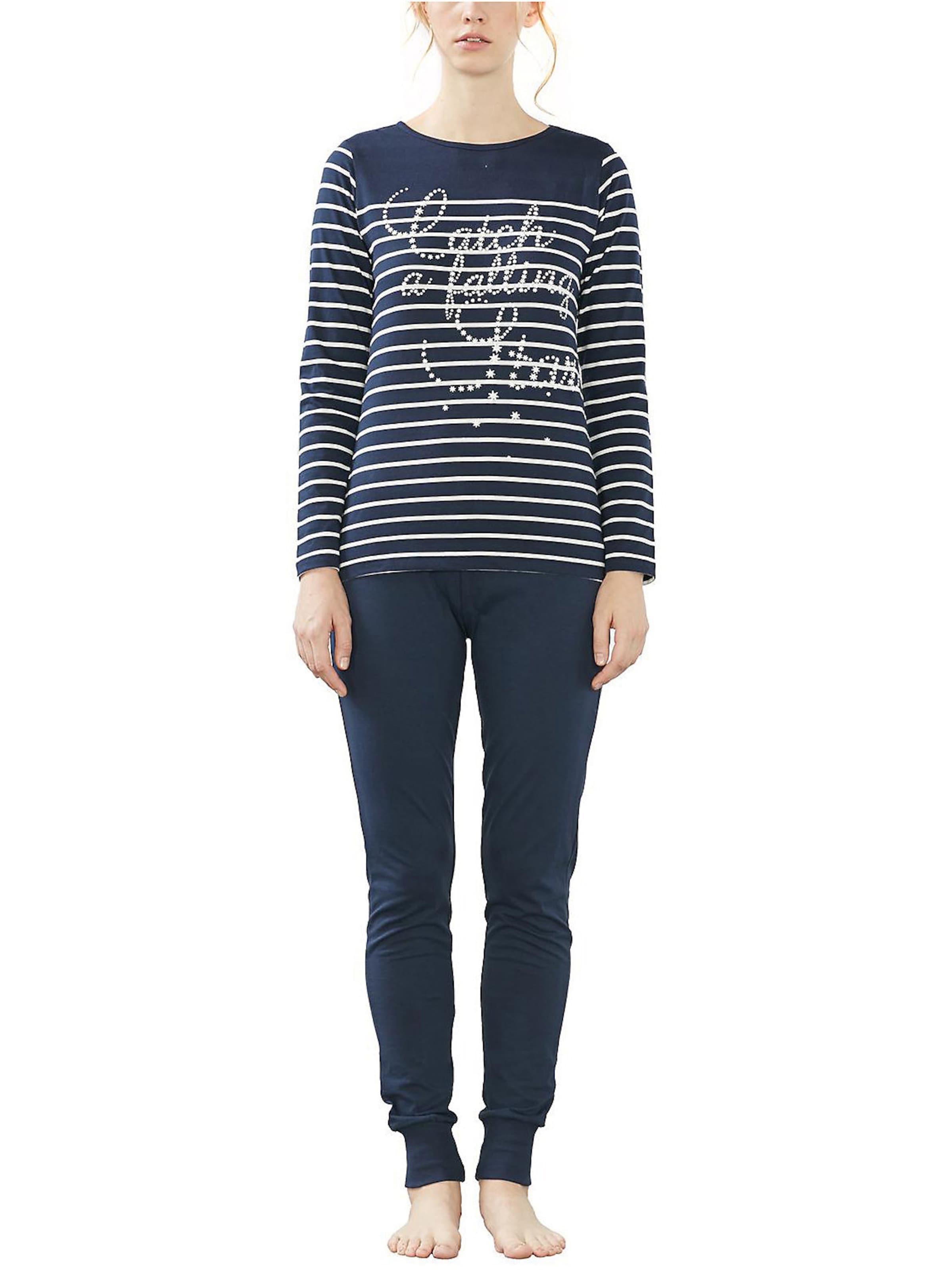 Esprit Bodywear Schlafanzug 'Eva Cas' Freies Verschiffen Finden Große Footlocker Finish Günstiger Preis Spielraum Shop Rabatt Bestseller khENMegK