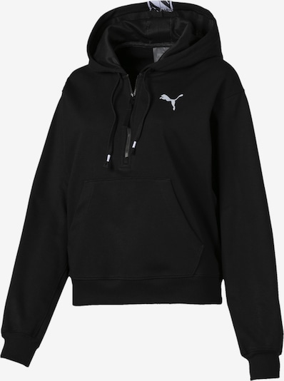 PUMA Sportief sweatshirt 'Feel It' in de kleur Zwart, Productweergave