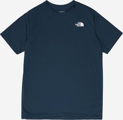 THE NORTH FACE Shirt 'REAXION' in nachtblau / weiß, Produktansicht
