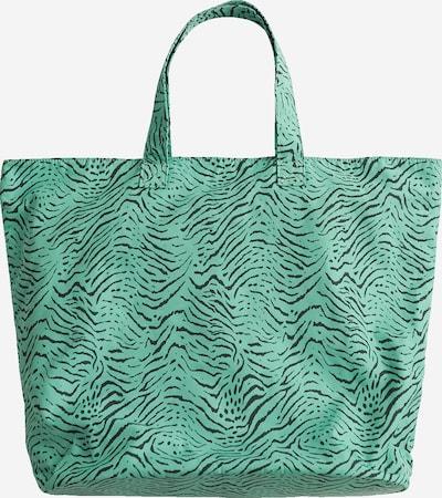 EDITED Torba shopper 'Samiah' w kolorze zielony / czarnym, Podgląd produktu