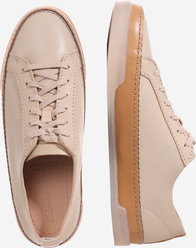 CLARKS Sneaker 'Hidi Holly' in beige nude | ABOUT YOU