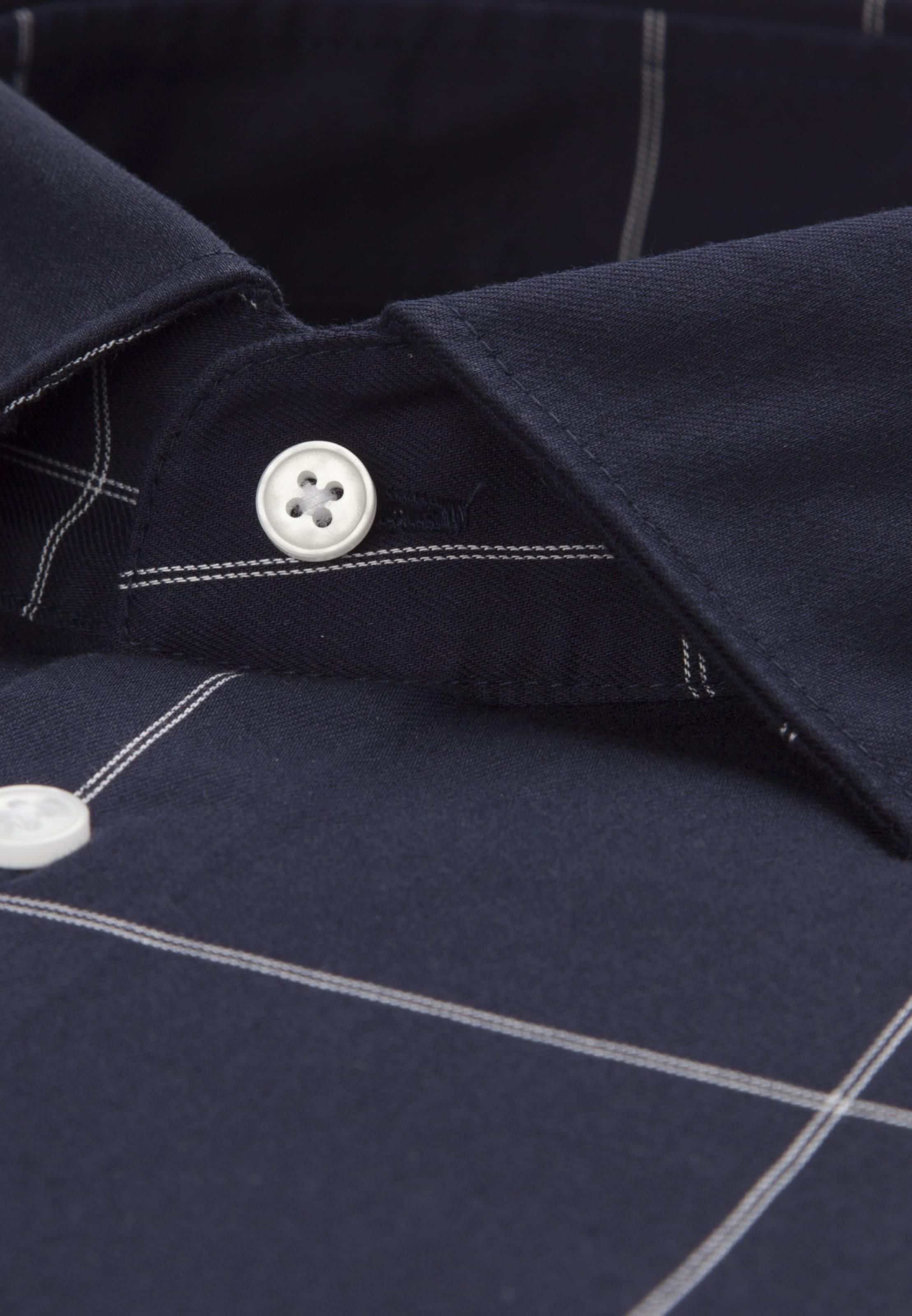 In Hemd In Seidensticker Hemd NachtblauWeiß Seidensticker Seidensticker NachtblauWeiß 3L5qj4AR