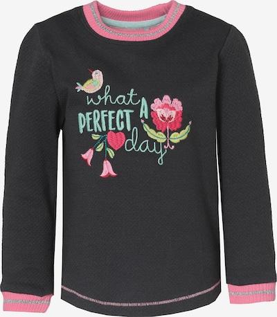 SIGIKID Pullover in hellblau / dunkelblau / grün / pink / silber, Produktansicht