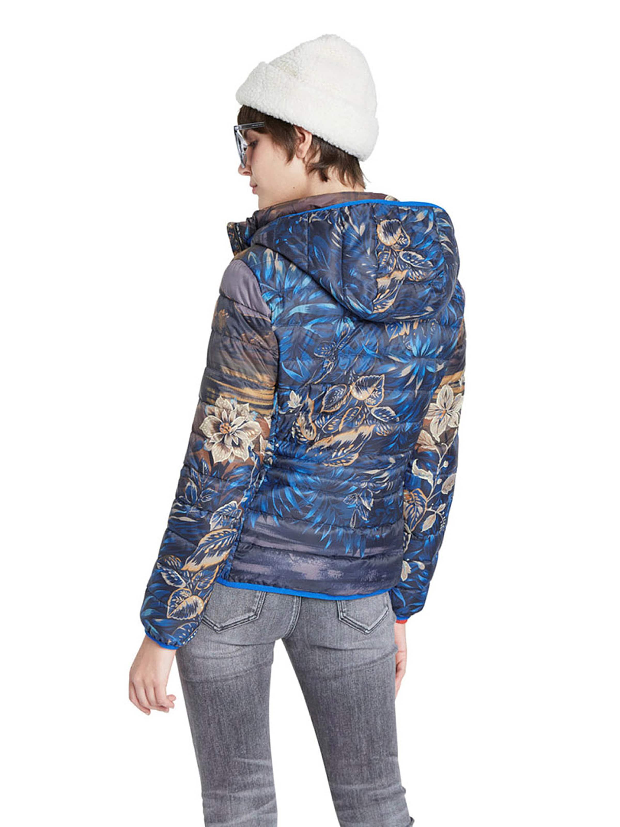 Desigual Övergångsjacka 'ANKOR' i blå / blandade färger