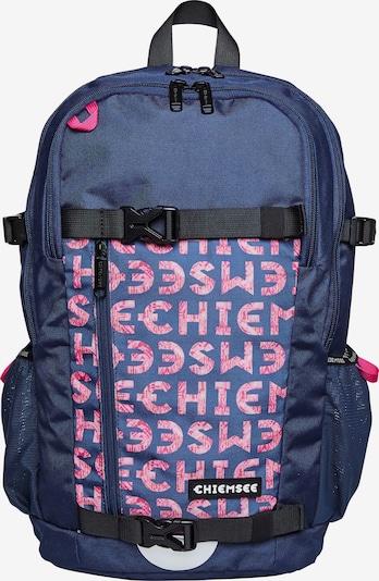 CHIEMSEE Rucksack in dunkelblau / pink, Produktansicht