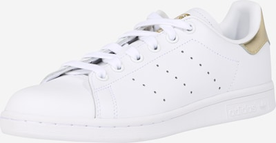 ADIDAS ORIGINALS Stan Smith Sportmode Sneakers Schuhe in gold / weiß, Produktansicht