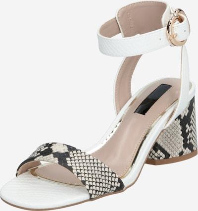 Miss Selfridge Sandale 'SADE LW BLCK MX SNDL' in weiß, Produktansicht
