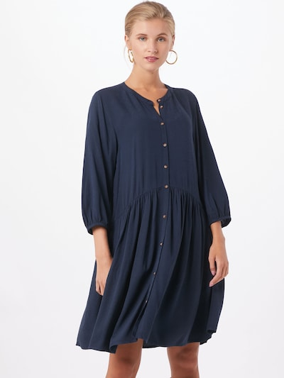TOM TAILOR DENIM Kleid in navy, Modelansicht