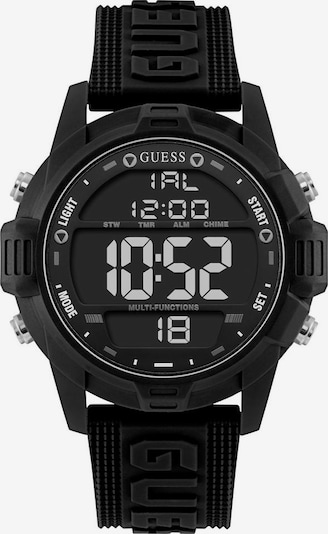 GUESS Digitaluhr 'Charge W1299G1' in schwarz, Produktansicht