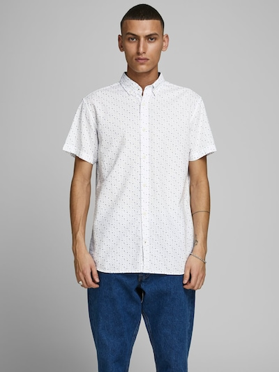 JACK & JONES Overhemd in de kleur Wit: Vooraanzicht