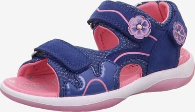SUPERFIT Sandale 'Sunny' in blau / hellpink, Produktansicht