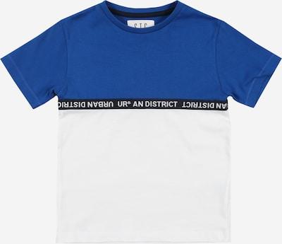 STACCATO Shirt in royalblau / schwarz / weiß, Produktansicht