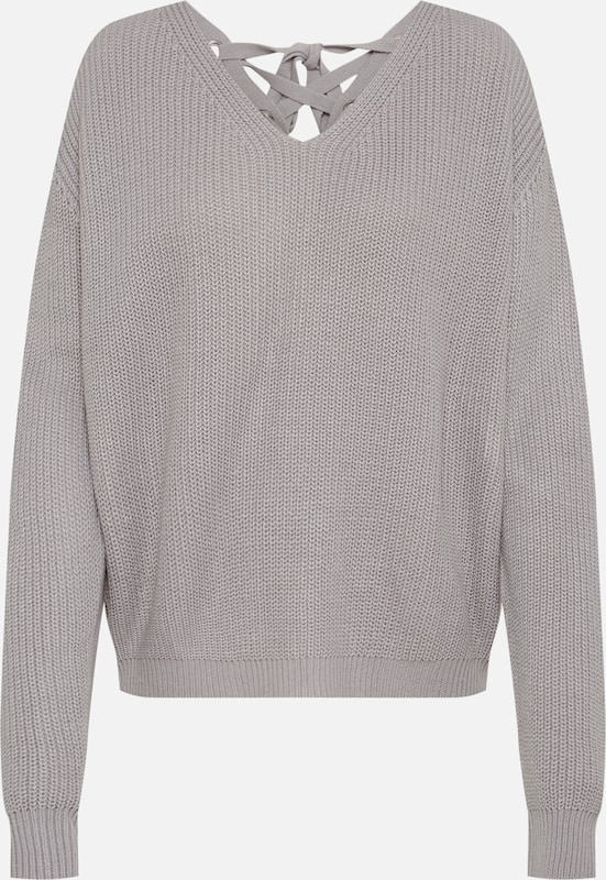 Urban Classics Sweater in grau: Frontalansicht