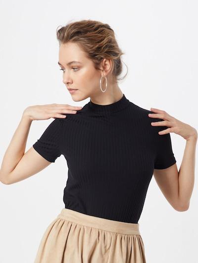 PIECES Shirt 'PCKYLIE' in schwarz: Frontalansicht