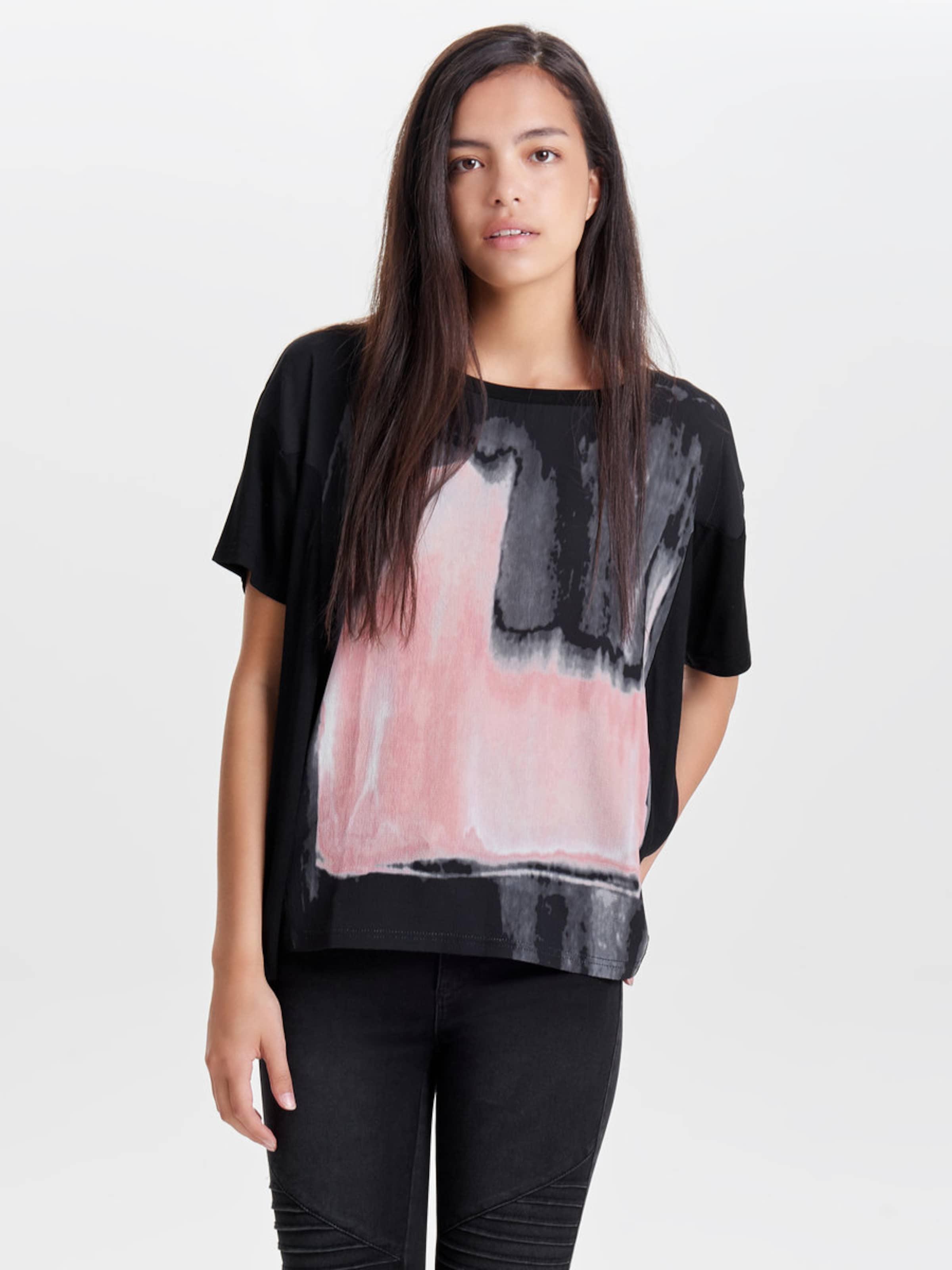 ONLY Oversize-T-Shirt Steckdose Freies Verschiffen Authentische sddIN6Ejt