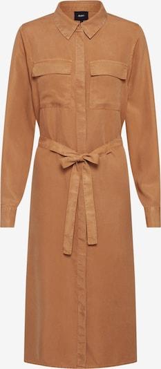 OBJECT Blusenkleid 'OBJMANI' in braun, Produktansicht