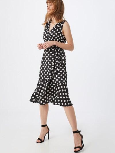 Mela London Kleid in schwarz / weiß, Modelansicht