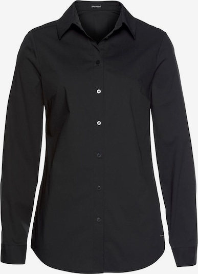 BRUNO BANANI Bluse in schwarz, Produktansicht