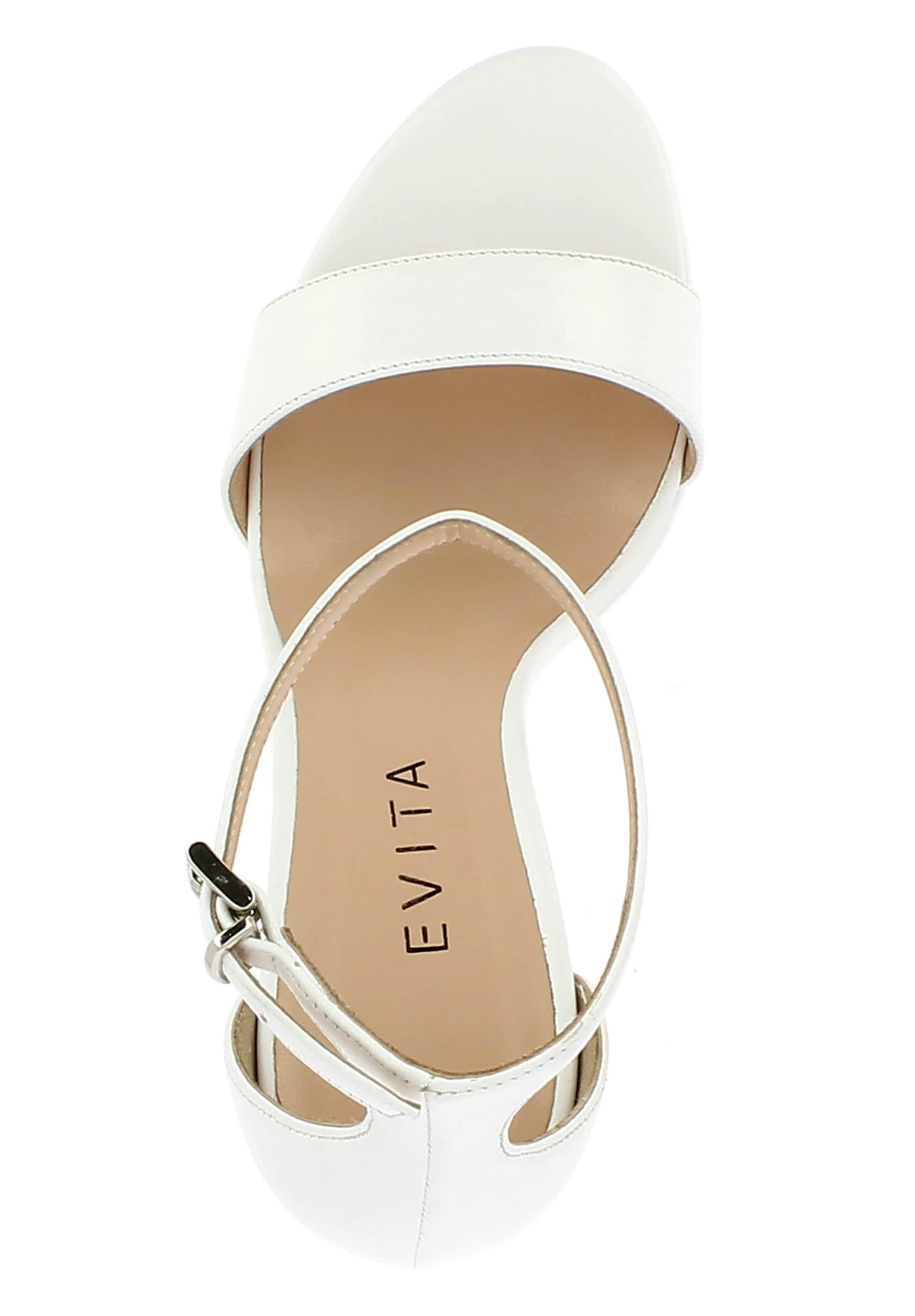 Weiß Evita Sandalette In 'valeria' Weiß Sandalette Evita 'valeria' Sandalette Evita In 'valeria' 76gybfYv