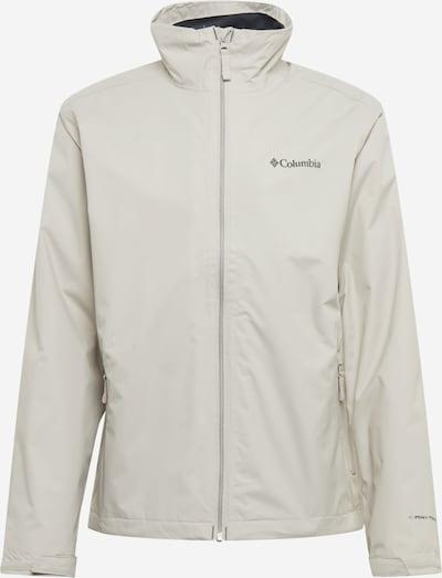 COLUMBIA Sportjas 'Bradley Peak' in de kleur Antraciet / Lichtgrijs, Productweergave