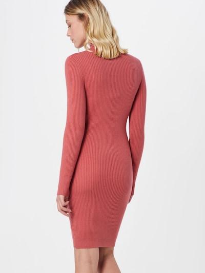 VILA Sukienka z dzianiny 'VIANDENA' w kolorze homarowym, Podgląd na modelu(-ce)