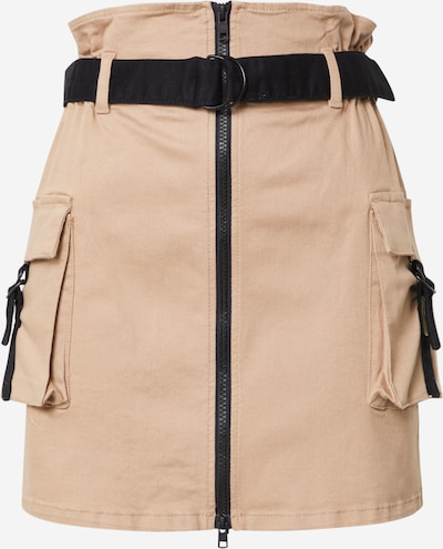 NU-IN Spódnica w kolorze beżowy / czarnym, Podgląd produktu