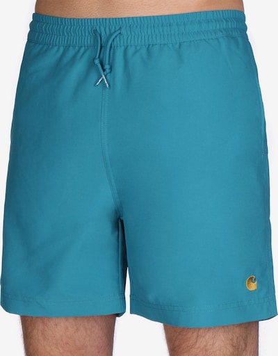 Carhartt WIP Zwemshorts ' Chase ' in de kleur, Productweergave