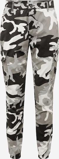 Urban Classics Športne hlače | siva / črna / bela barva, Prikaz izdelka